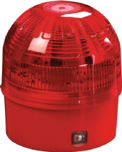 Intelligent open area beacon red